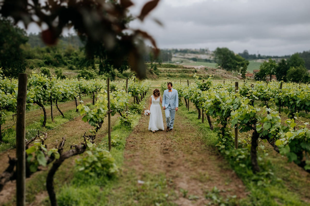 Imagem capa - Ana & Joep -  Rustic wedding at Quinta da Eira por Feel Creations - Wedding Photo & Film