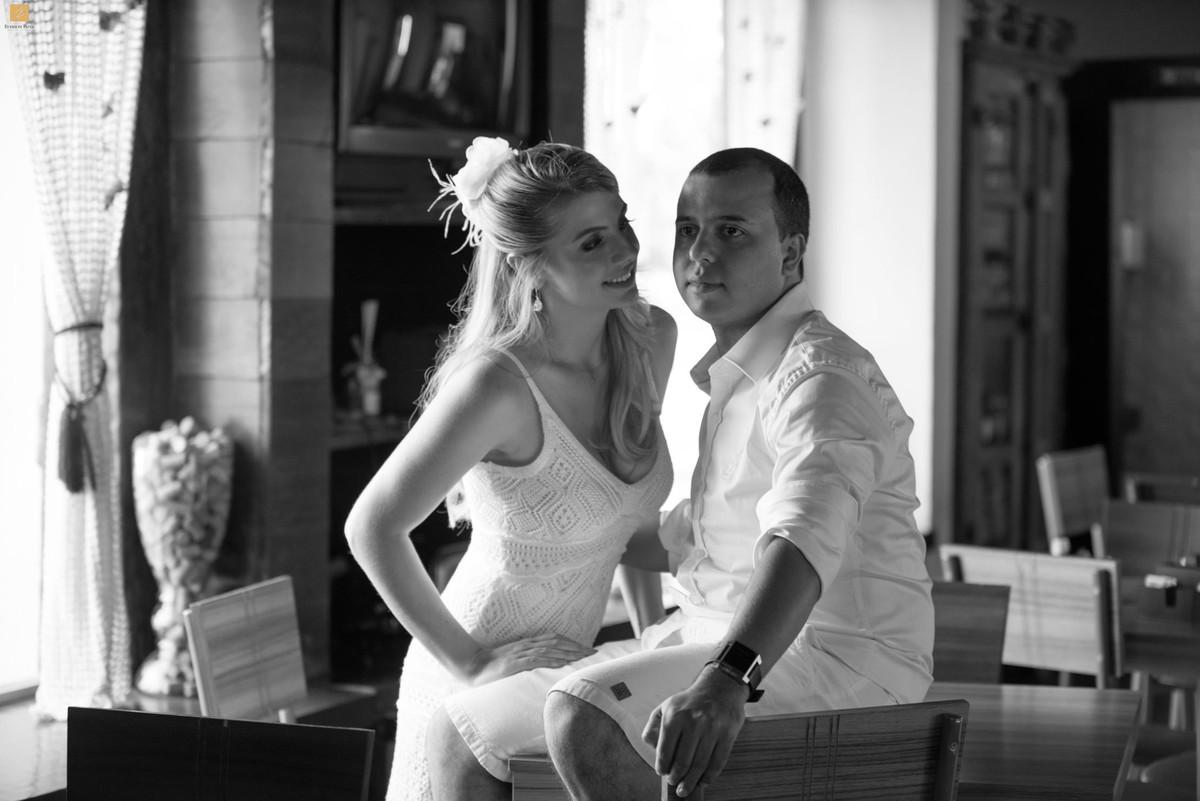 Foto de Maria Alice e Bruno