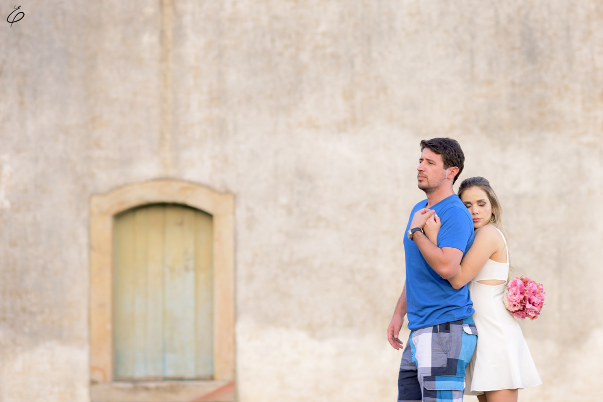 Foto de Gabi e Leandro