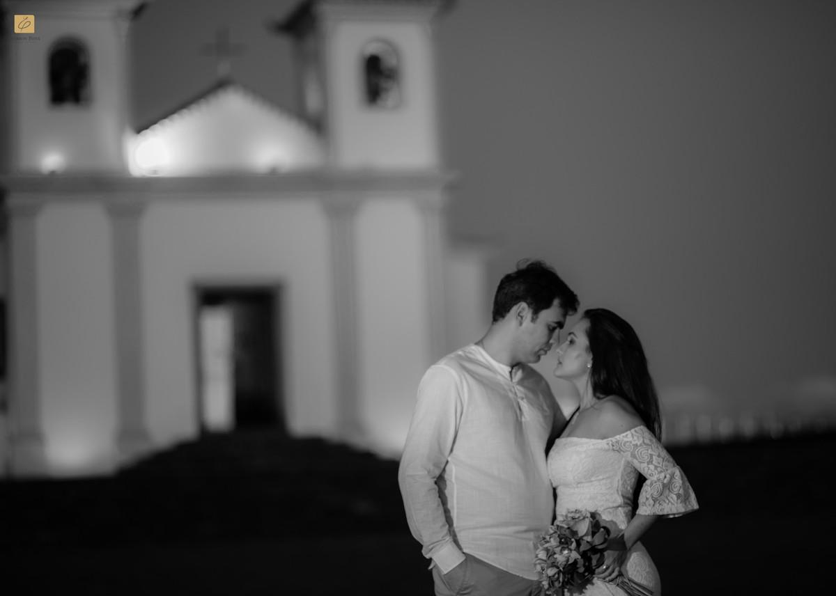 Foto de Letícia e Thomáz