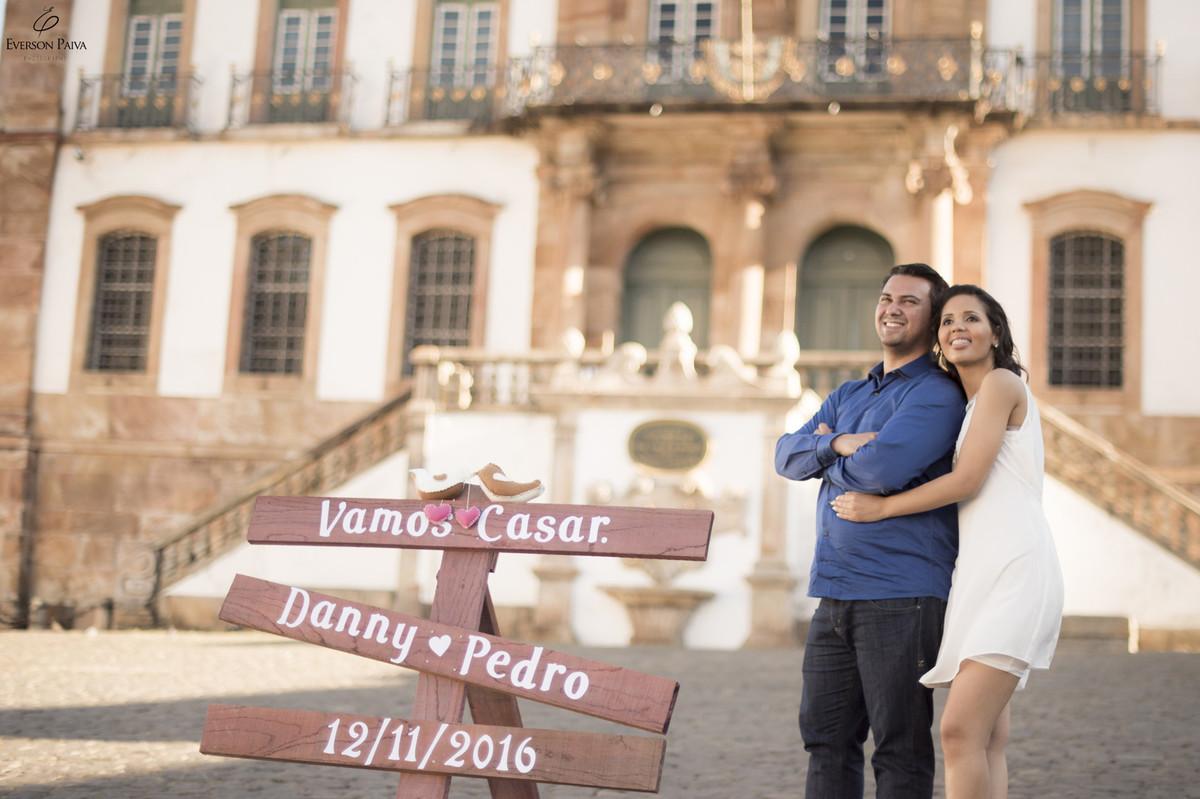 Foto de Danny e Pedro