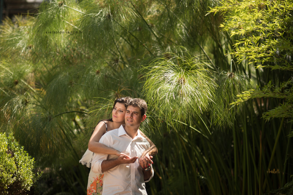 Foto de Cláudia e Wender