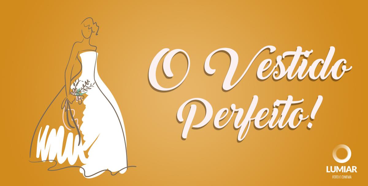 Imagem capa - Dicas para escolher o vestido de noiva perfeito! por Claudemir Tabosa Silva ME