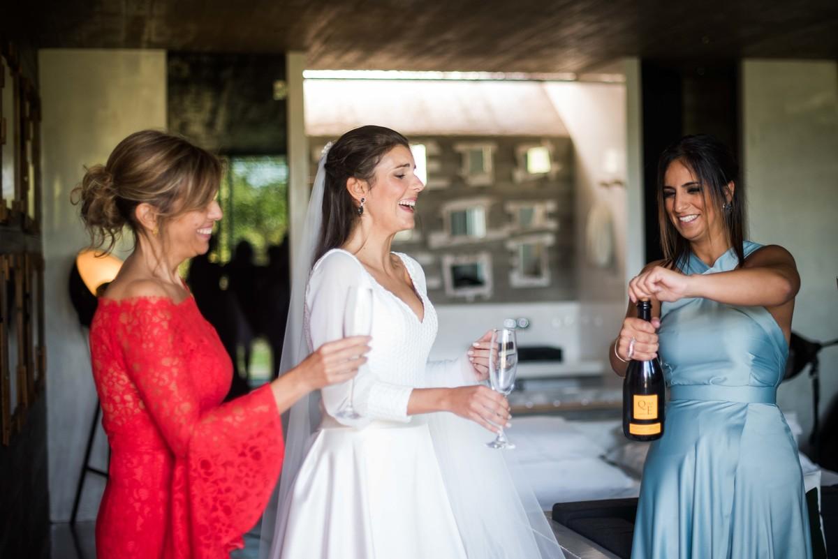brinde à noiva