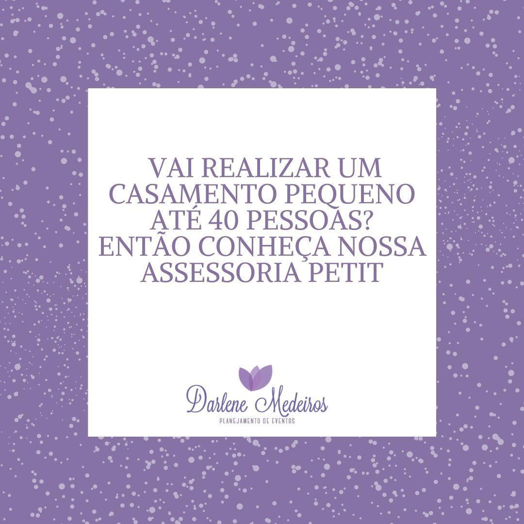 Imagem capa - Casamentos Íntimos por Darlene Medeiros
