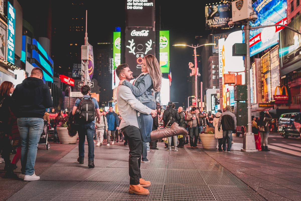 Imagem capa - Ensaio em Nova York  por Fabiana & Julio