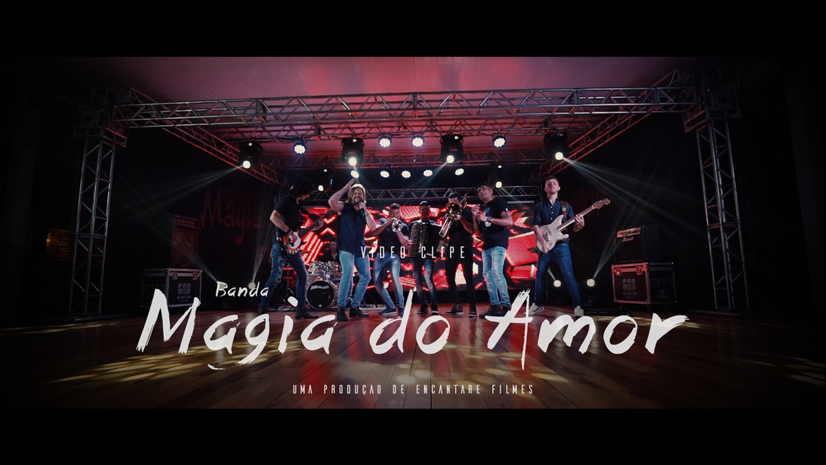 Imagem capa - Banda Magia do Amor | Miss BB | Video Clip Oficial por Copyright © 2019 - Encantare Filmes