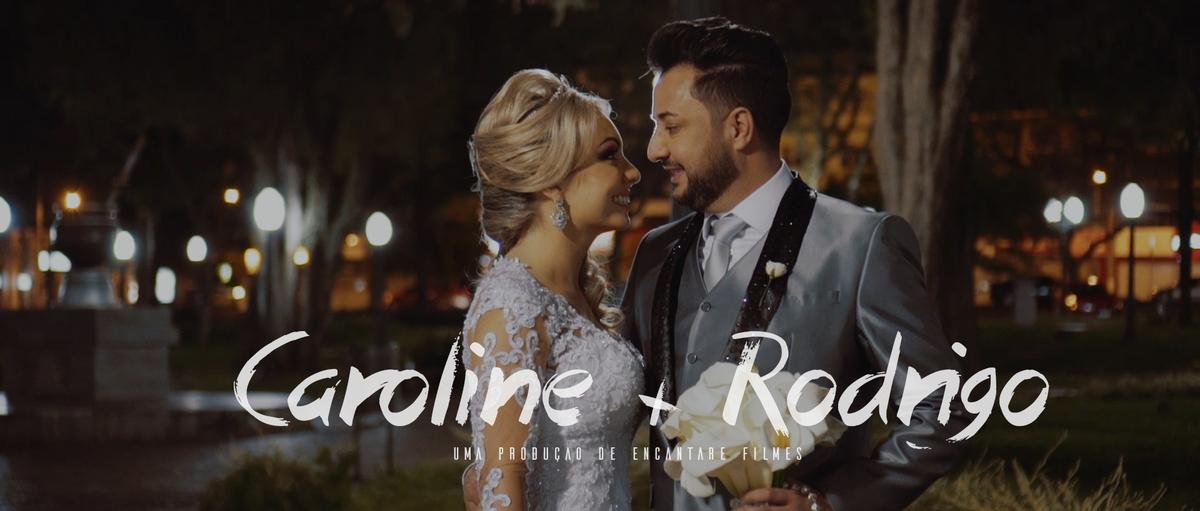 Imagem capa - Wedding   Caroline & Rodrigo   Trailer por Copyright © 2019 - Encantare Filmes