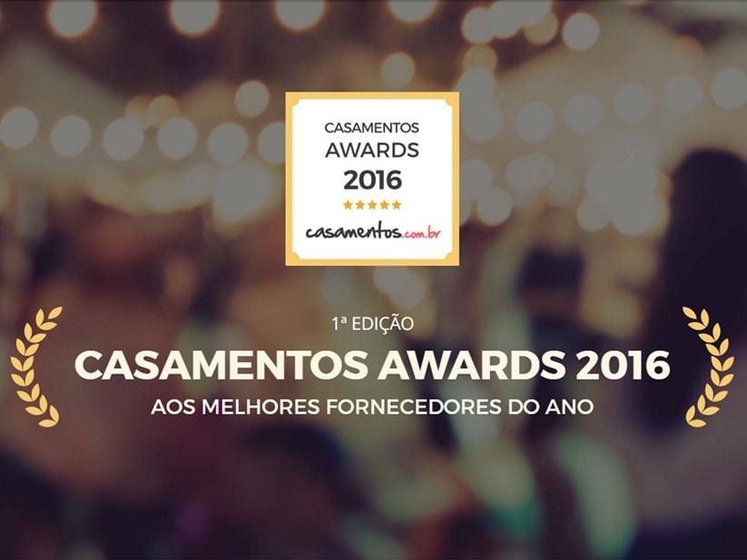 Imagem capa - Premio Casamento Awards 2016 por Rafael Volsi