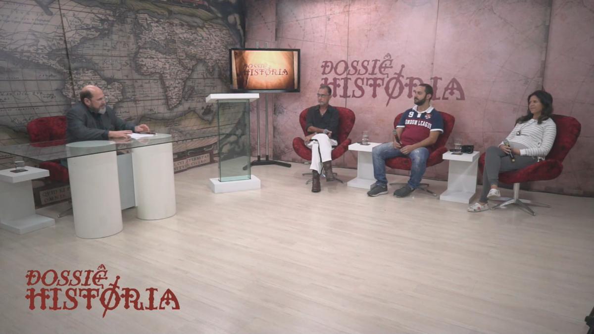 Imagem capa - Entrevista No Programa Dossiê História por Érica Marci