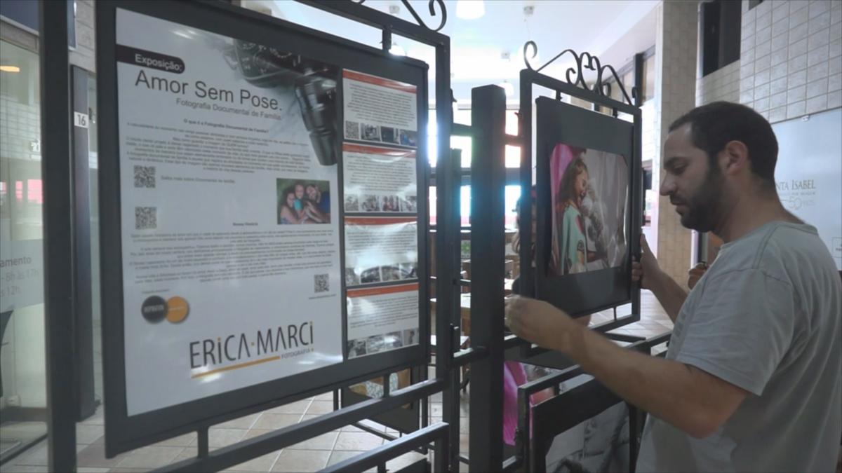 Imagem capa - Matéria  do Jornal sobre Exposição no Arcádia Mall por Érica Marci