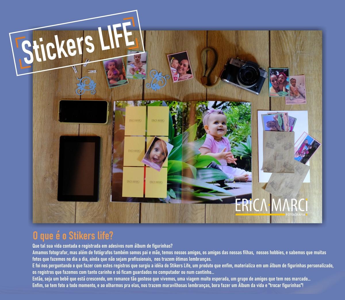 Imagem capa - Nosso novo Produto - Stickers Life por Érica Marci