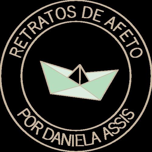 Logotipo de Retratos de Afeto- por Daniela Assis