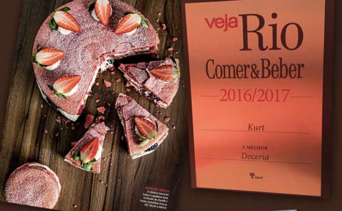 Imagem capa - PREMIO VEJA RIO 2016 / 2017 por Confeitaria Kurt