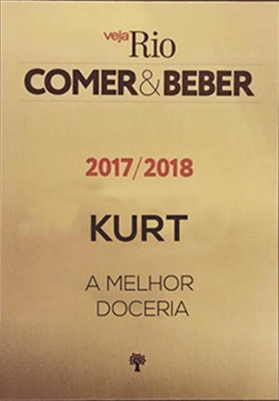Imagem capa - PREMIO VEJA RIO 2017/2018 por Confeitaria Kurt