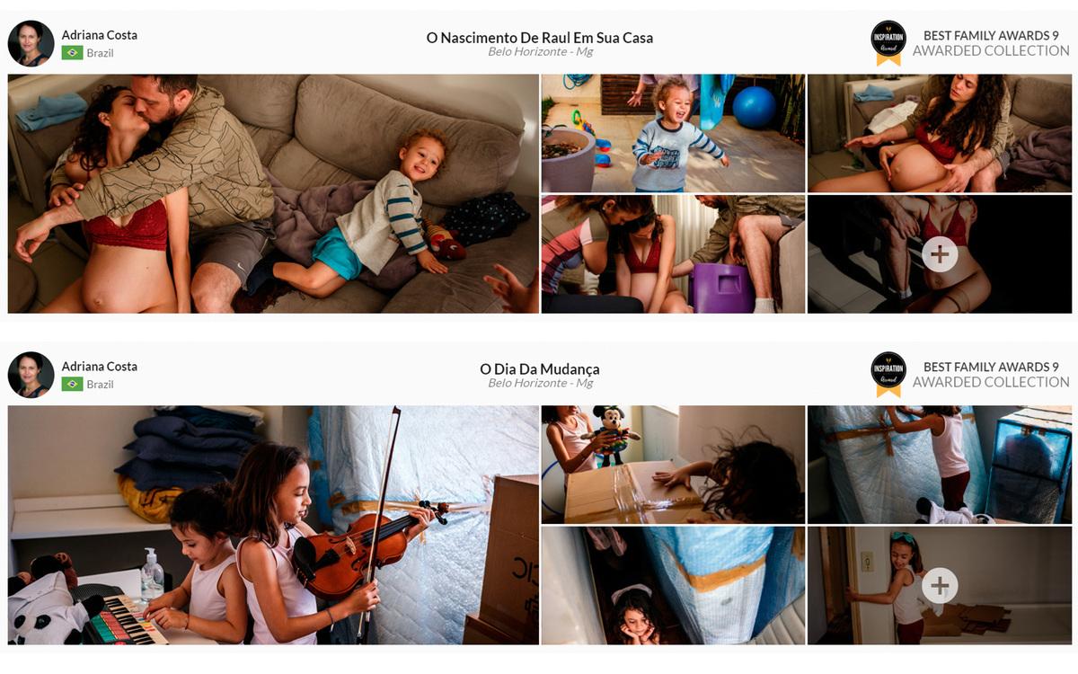 Imagem capa - 4 Histórias, 2 Premiadas e 2 com Menção Honrosa! por Adriana Costa