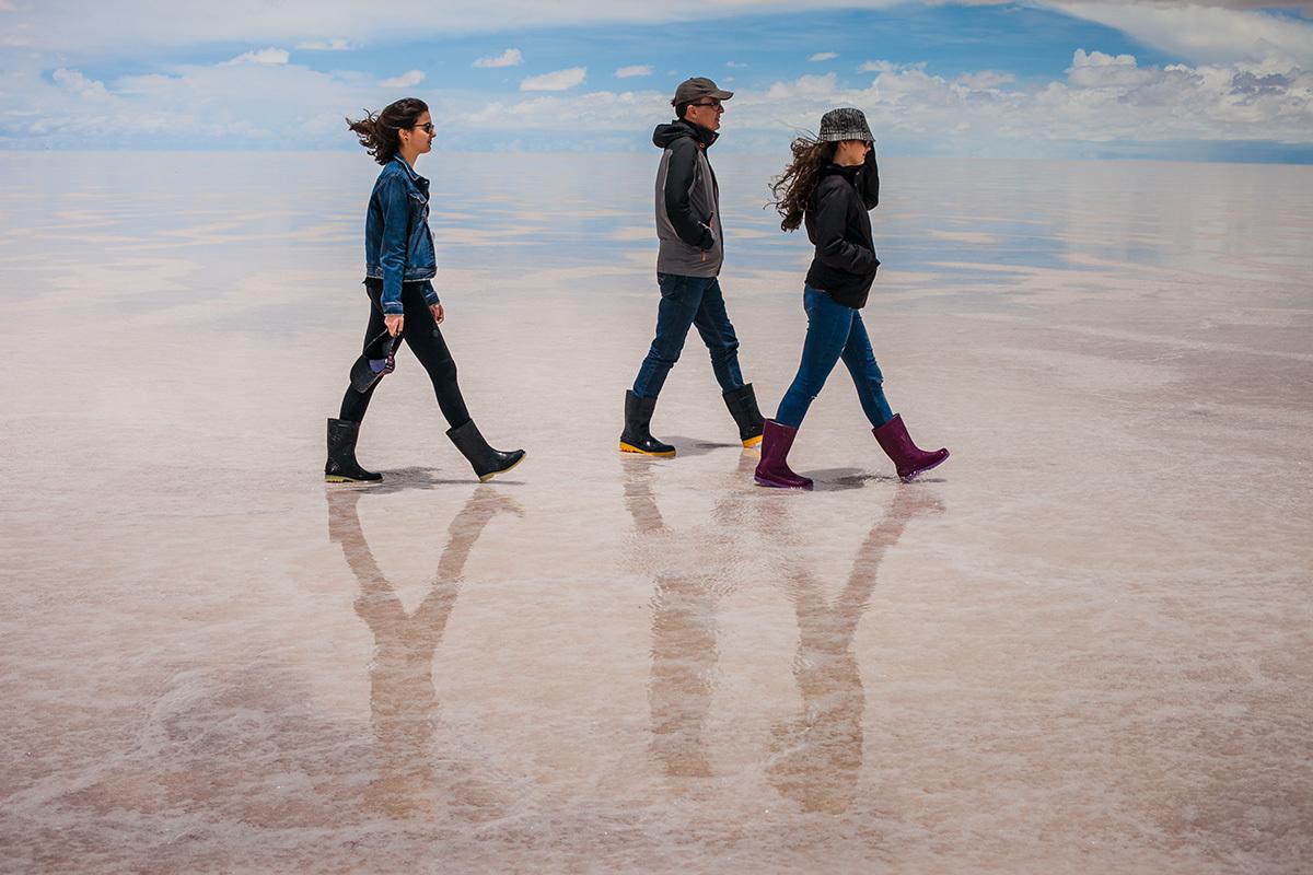Imagem capa - Salar de Uyuni - Bolívia por Adriana Costa