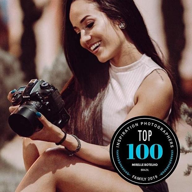 Imagem capa - Estou entre o 100 melhores fotógrafos de família do mundo! por Mirelle Botelho