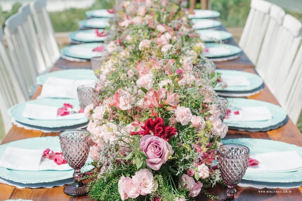 Imagem capa - Decoração Para Mesas de Casamento: Bohô e DIY 2016 por EF Cerimonial