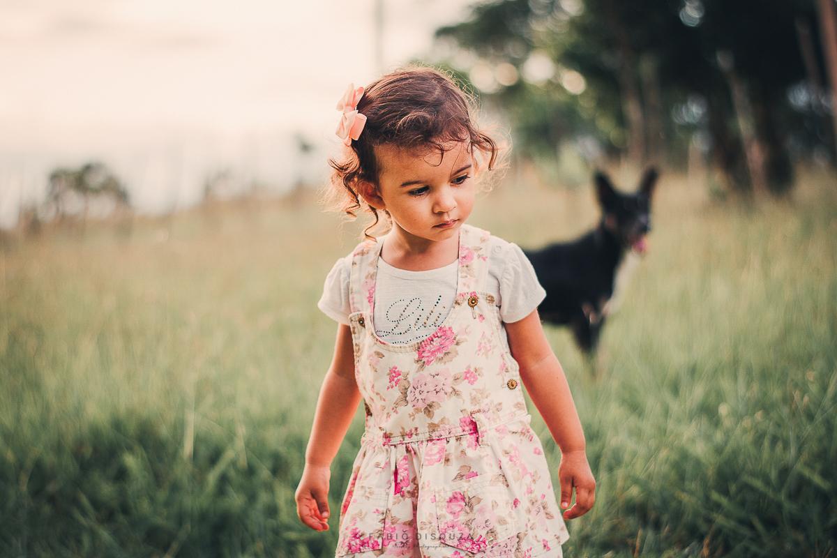 Retratos de crianças. Fotografia de Fábio DiSouza