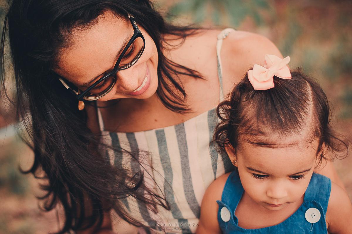 Ensaio de Família, mãe e filha.