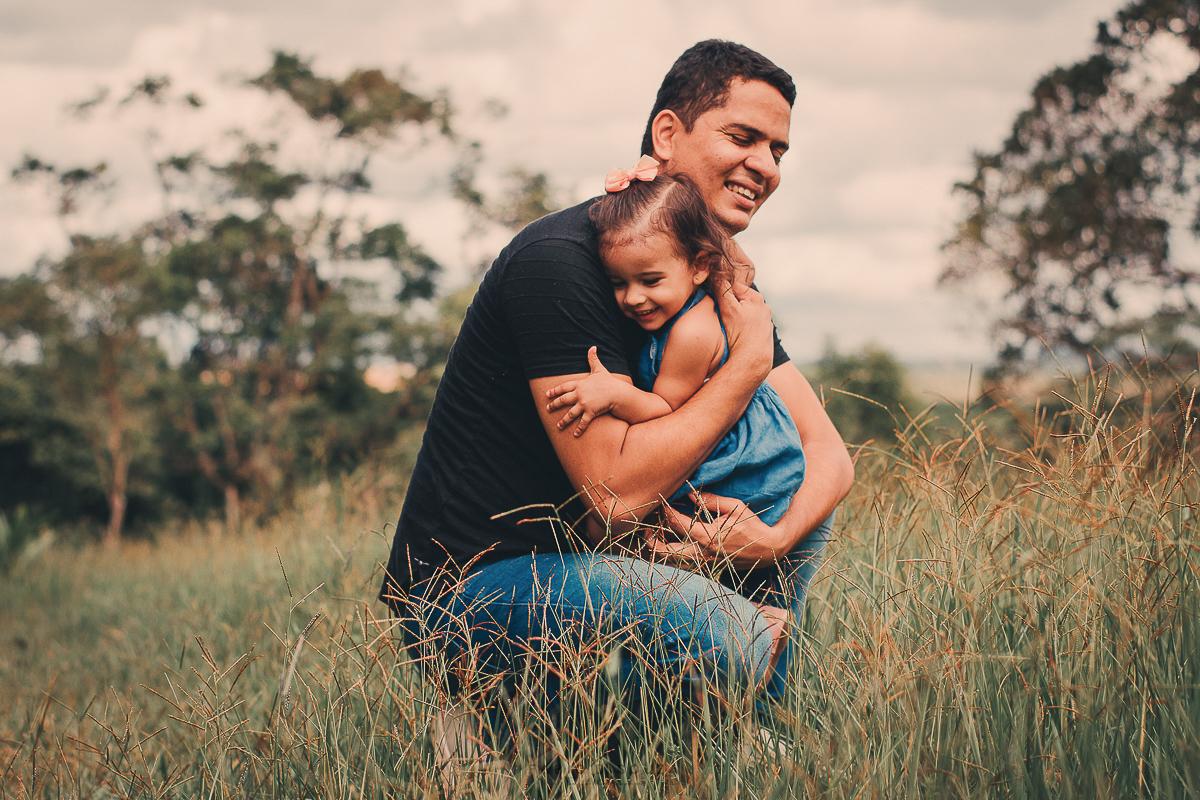 Amor incondicional entre pai e filha