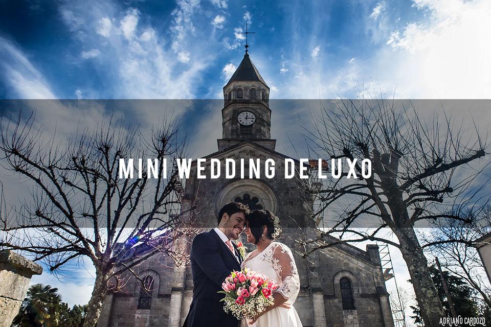 Imagem capa - Como fazer um mini wedding de luxo? por Adriano Cardozo Photographer