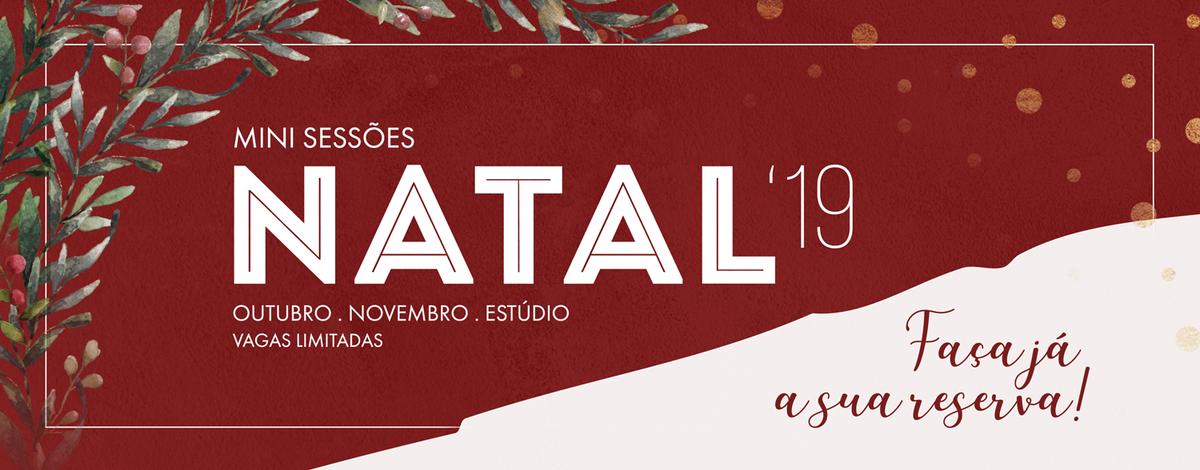 Imagem capa - MINI-SESSÕES DE NATAL HALLOSTUDIO por Hallo Studio