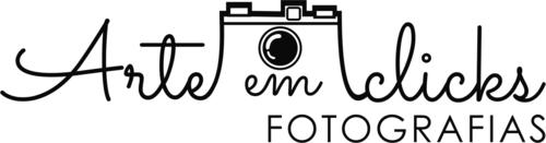 Logotipo de Arte em Clicks Fotografias