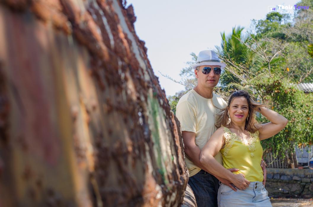 Pré-wedding - Praia de São Francisco Mauá -RJ Thais Teves Fotografia