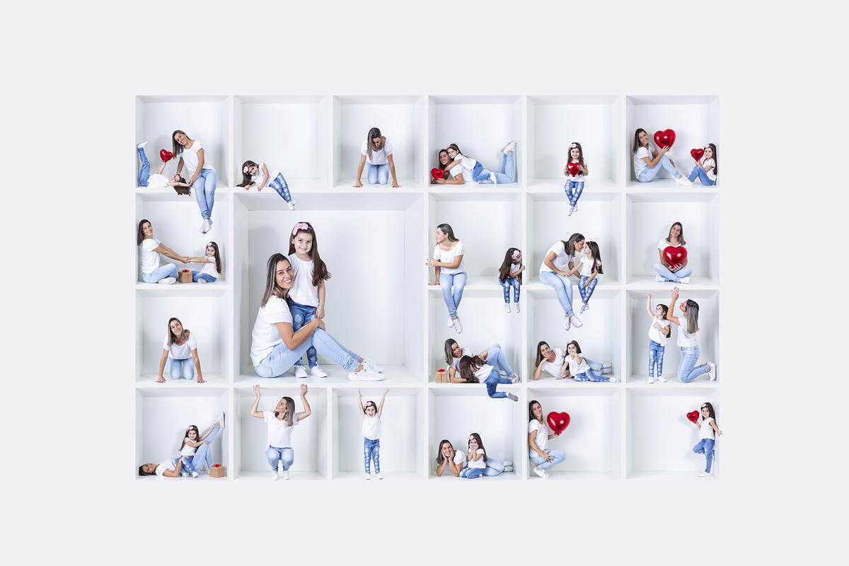 Imagem capa - Ensaio Cubinhos de Amor - um presente criativo para o dia das mães! por Victor Paiva