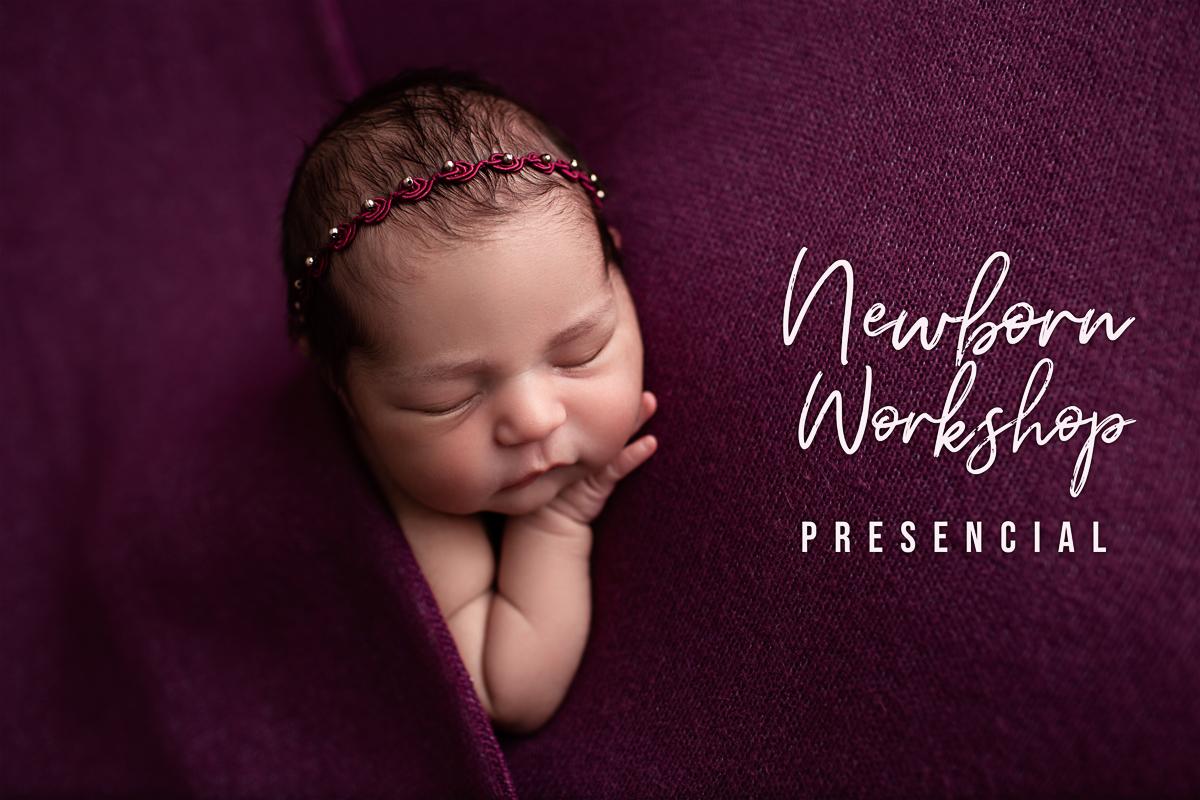 Imagem capa - Workshop Fotografia Newborn por Bel Ferreira