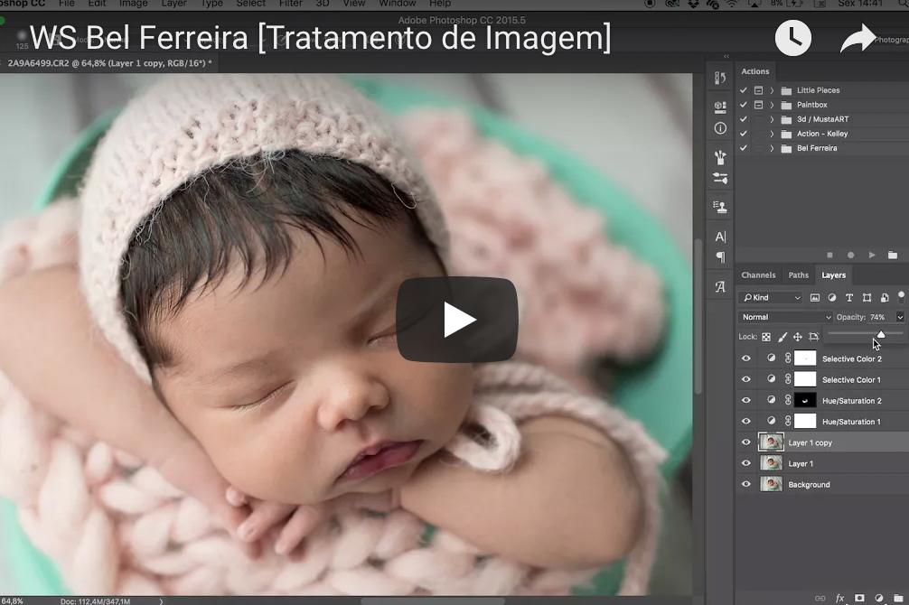 Imagem capa - Tratamento de imagem  por Bel Ferreira