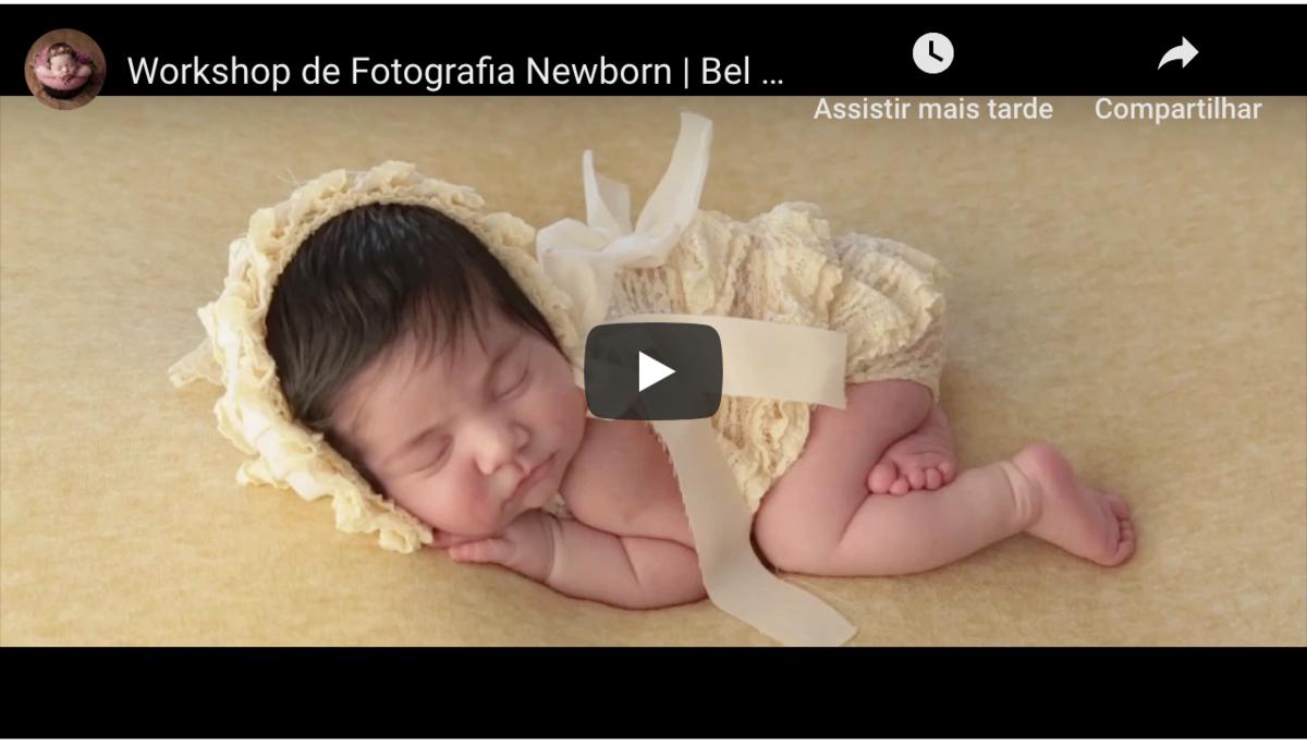 Imagem capa - Workshop Fotografia Newborn - Portugal por Bel Ferreira