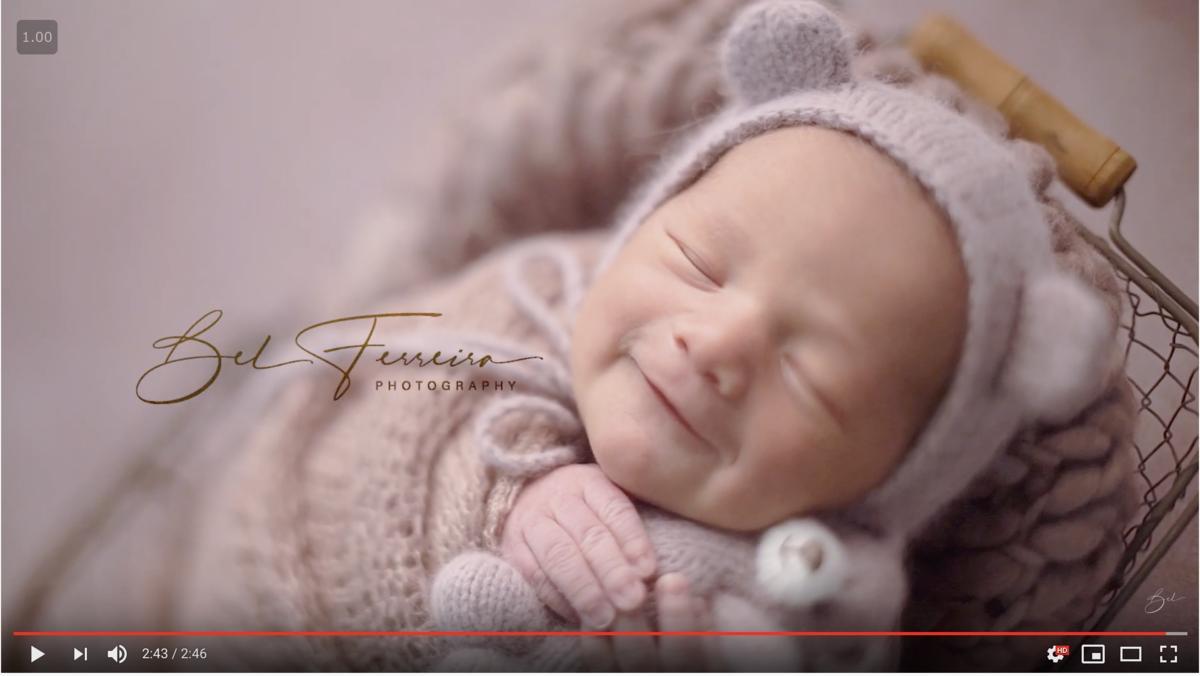 Imagem capa - Carta do recém-nascido (em vídeo) por Bel Ferreira