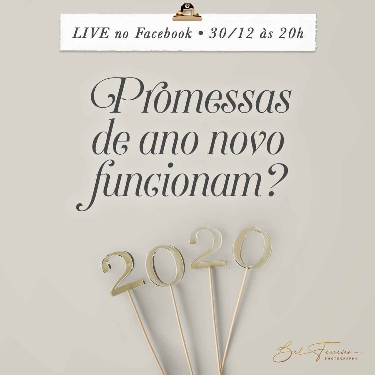 Imagem capa - Promessas de ano novo funcionan? por Bel Ferreira