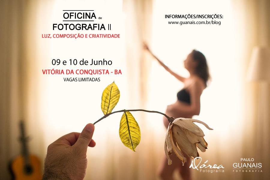 Imagem capa - Oficina de Fotografia II em Vitória da Conquista por Paulo Guanais - Fotógrafo de Casamento