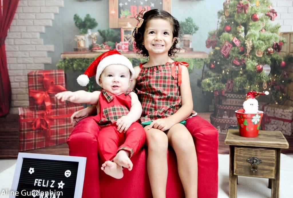 Imagem capa - Ho!ho! nosso Natal foi mágico!! por ALINE GUADANHIM DA SILVA CHAVES