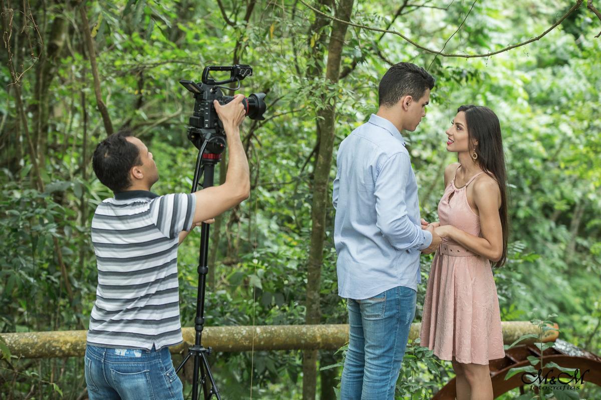 Imagem capa - Making off  Pré Wedding  por Gilberto