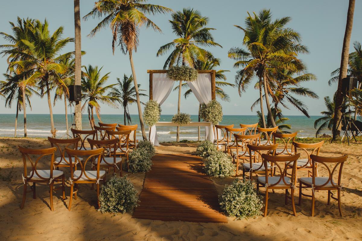 Imagem capa - DESTINATION WEDDING - Casar com pé na areia é apaixonante! por Silas Coelho