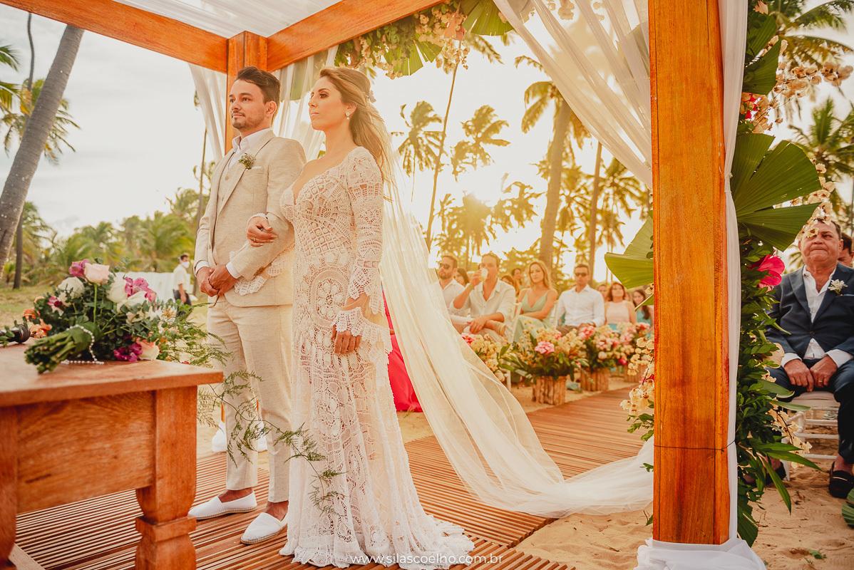 Imagem capa - Qual o melhor horário para casar na praia? por Silas Coelho