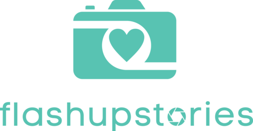 Logotipo de flashupstories