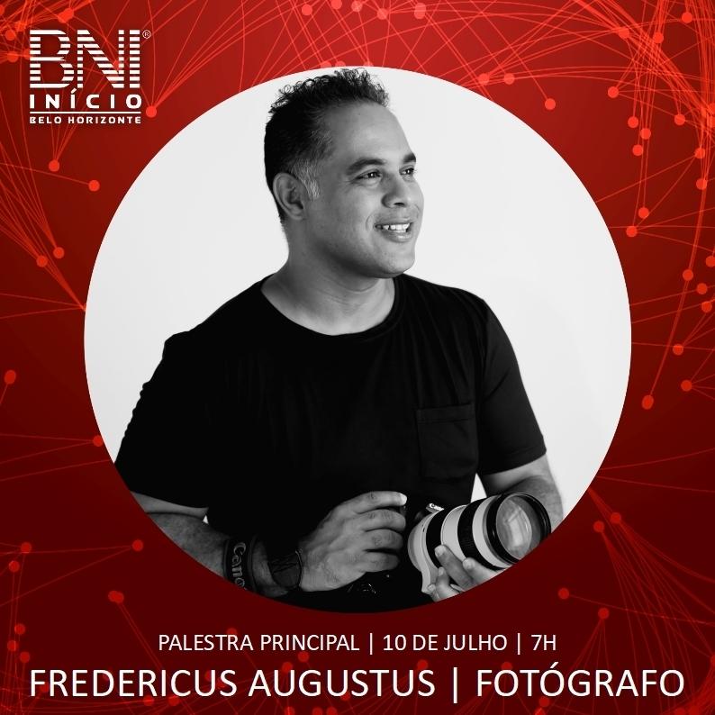 Imagem capa - Palestra sobre fotografia de Retrato por FREDERICUS AUGUSTUS DA SILVA