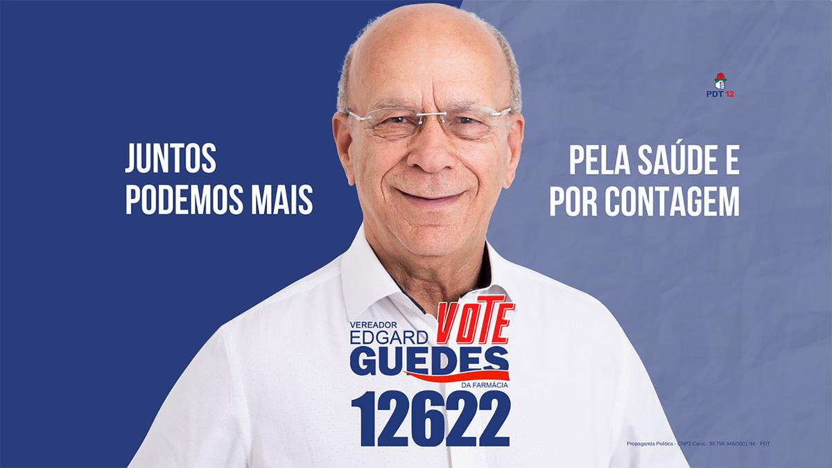 Imagem capa - Edgard Guedes da Farmácia é candidato a vereador de Contagem pelo PTD por FREDERICUS AUGUSTUS DA SILVA