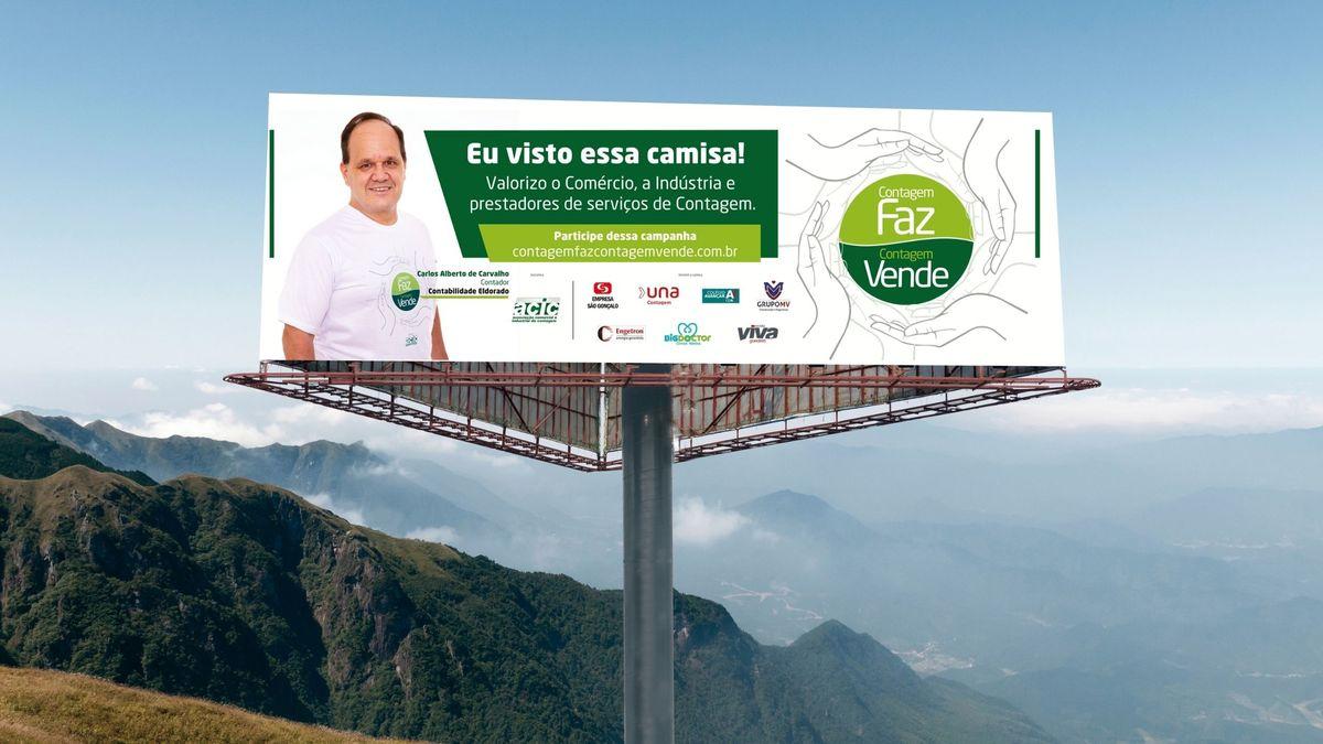 Imagem capa - Retrato do contador Carlos Alberto de Carvalho da Contabilidade Eldorado por FREDERICUS AUGUSTUS DA SILVA