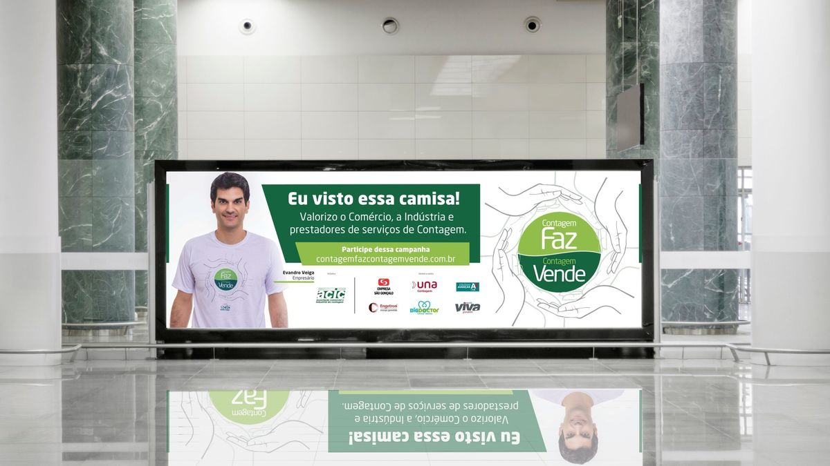 Imagem capa - Retrato do empresário Evandro Veiga Negrão de Lima Júnior por FREDERICUS AUGUSTUS DA SILVA