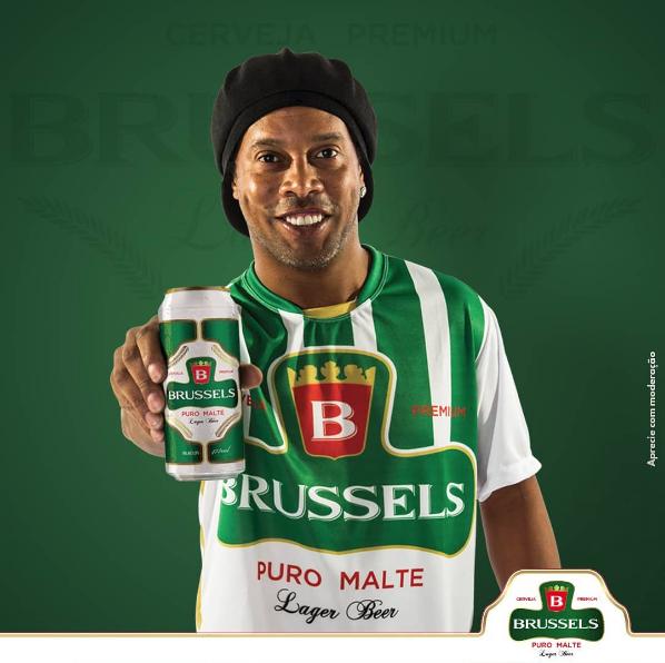 Imagem capa - Fotografei Ronaldinho Gaúcho o garoto propaganda da Cerveja Brussels por FREDERICUS AUGUSTUS DA SILVA