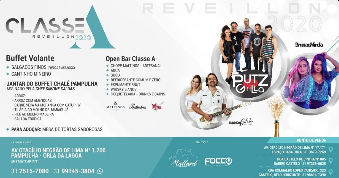 Imagem capa - Réveillon Classe A 2020 na Orla da Pampulha no Mallard Recepções por FREDERICUS AUGUSTUS DA SILVA