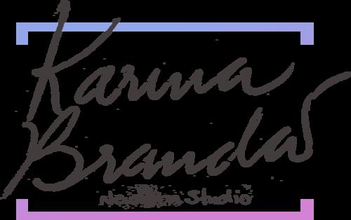 Logotipo de Karina Brandão