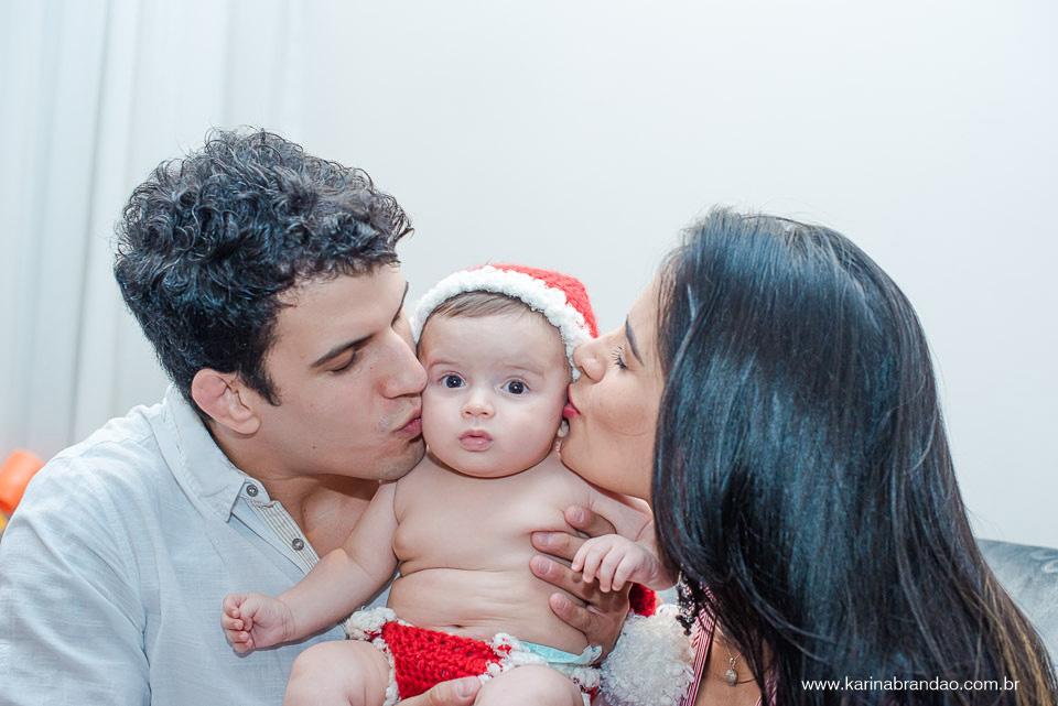 Imagem capa - Clima de Natal! Karina Brandão fotografa Lucilene Caetano e Felipe Sertanejo. por Karina Brandão